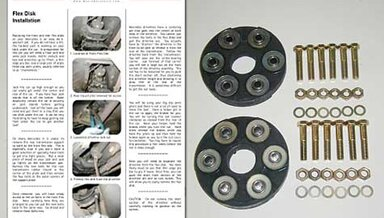 123 Front/Rear Driveline Flex Disc Kit (NON TURBO) new