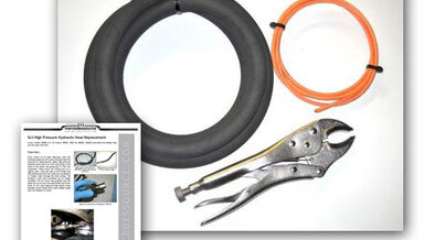Self Leveling Suspension (SLS) High Pressure Hose Replacement Kit w/ Instructions