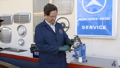 Mercedes 115 Fuel System Service Video Manual - On Demand Video