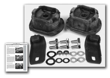 123 rear subframe mount kit