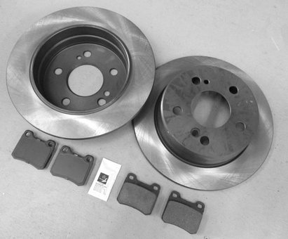 Brake Pads And Rotors Prices >> 201 And Early 124 Chassis Rear Ceramic Brake Pads With