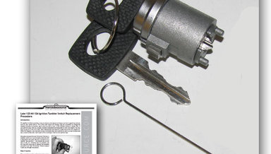Late 123 Most 126 Chassis Ignition Lock Tumbler Installation Kit
