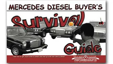 Mercedes Diesel Buyers Survival Guide Cover