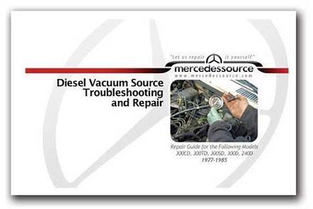 Diesel Vacuum Source Troubleshooting and Repair