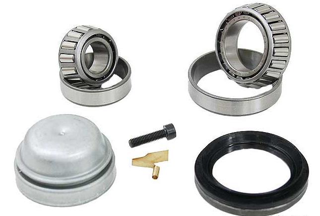 For Mercedes W116 W123 W126 240D 280E 450SE Front Wheel Bearing Kit Rein BEW005P
