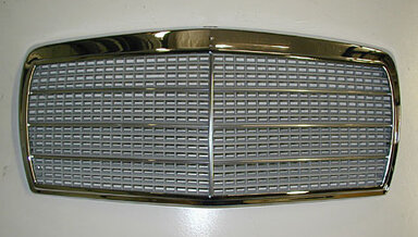 126 Sedan Chrome Grill (NEW)