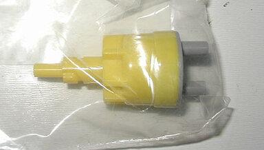 123 Vacuum Check Valve (yellow)