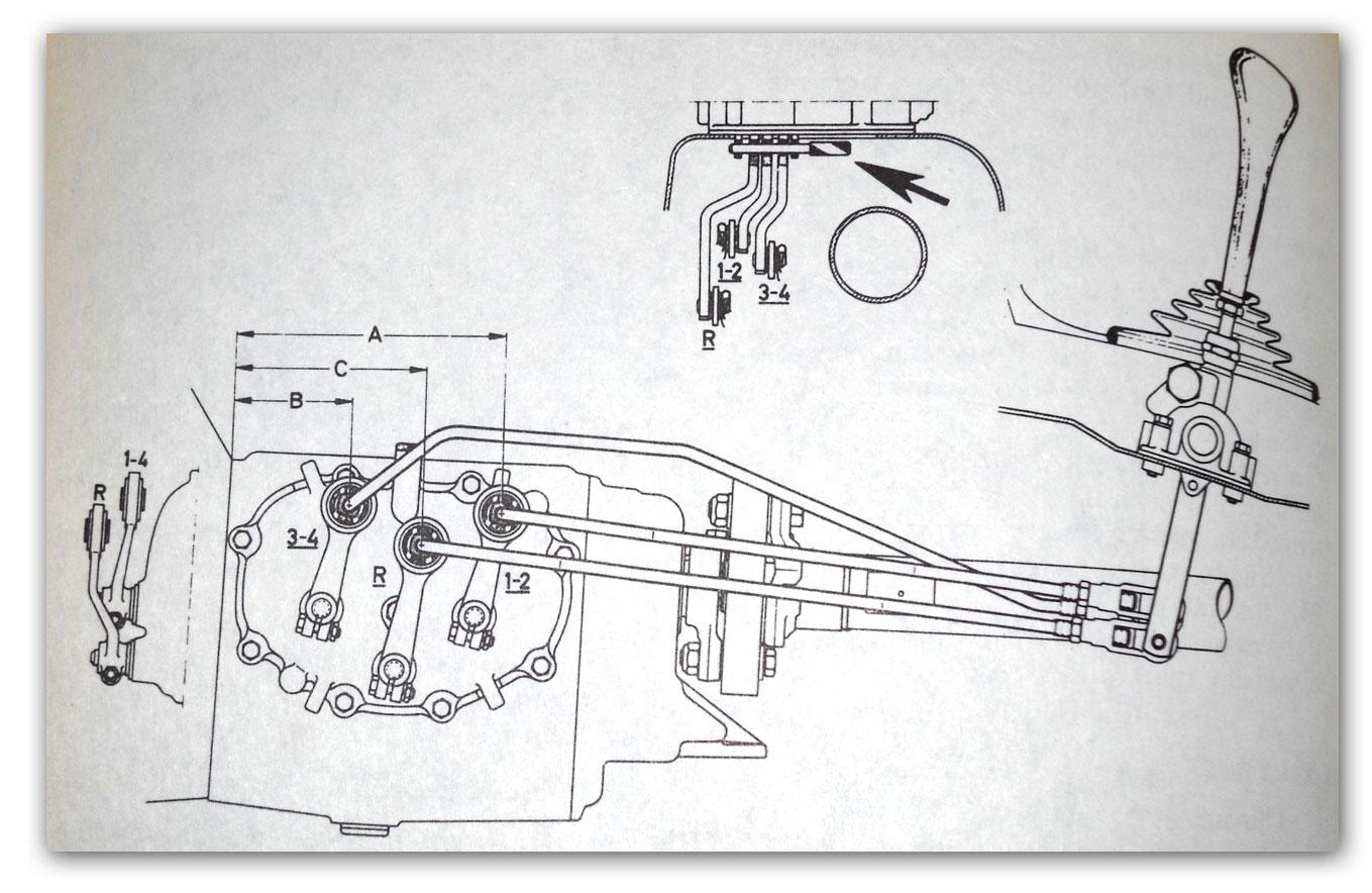 Manual Transmission Linkage Diagrams