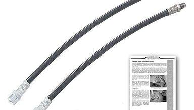123 126 Front Brake hose set