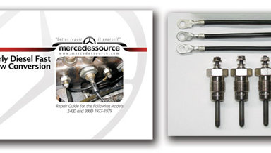 Front Mercedes 190DC 200D 220D 240D 300CD 300D 300SD 300TD Engine Valve Guide