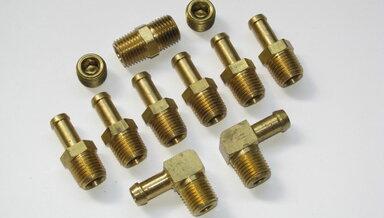 3/8 Brass fitting assortment