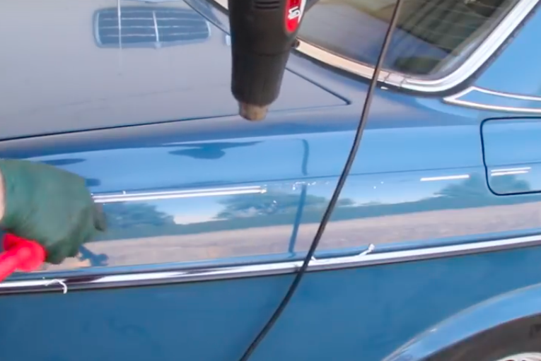 How I Remove Stick On Auto Pinstriping Without Damaging The Paint Body And Exterior Trim Problem Mercedessource Com