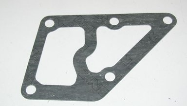 Oil filter pressure plate gasket