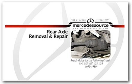 Rear Axle Removal and Repair (Book Only)