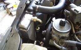 Dustin oil cooler