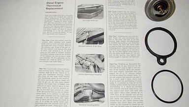 Diesel Thermostat Installation Kit