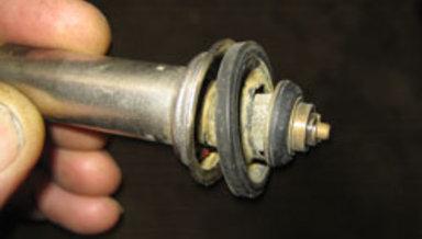 Torn Mono-valve Diaphragm
