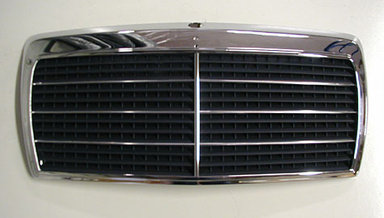 124 NEW CHROME GRILL - 1986 to 1993 ONLY