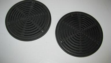 123 Sedan Coupe Factory Rear Shelf Speaker Covers ( Used )
