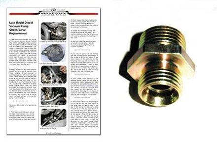 Late Style Vacuum Pump Main Checkvalve