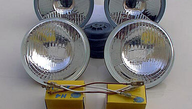 111, 108, 107, 116 Quad Hella H4 Headlights