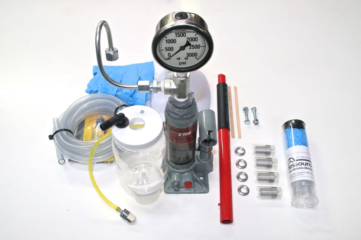Complete Fuel Injector Rebuild Kit for German Engines with Optional Filter Removal Tool
