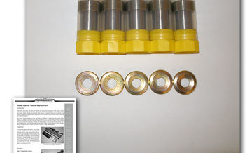 5 cyl Nozzles With Heat Shields 176