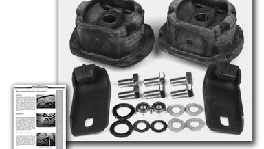 123 rear subframe mount kit