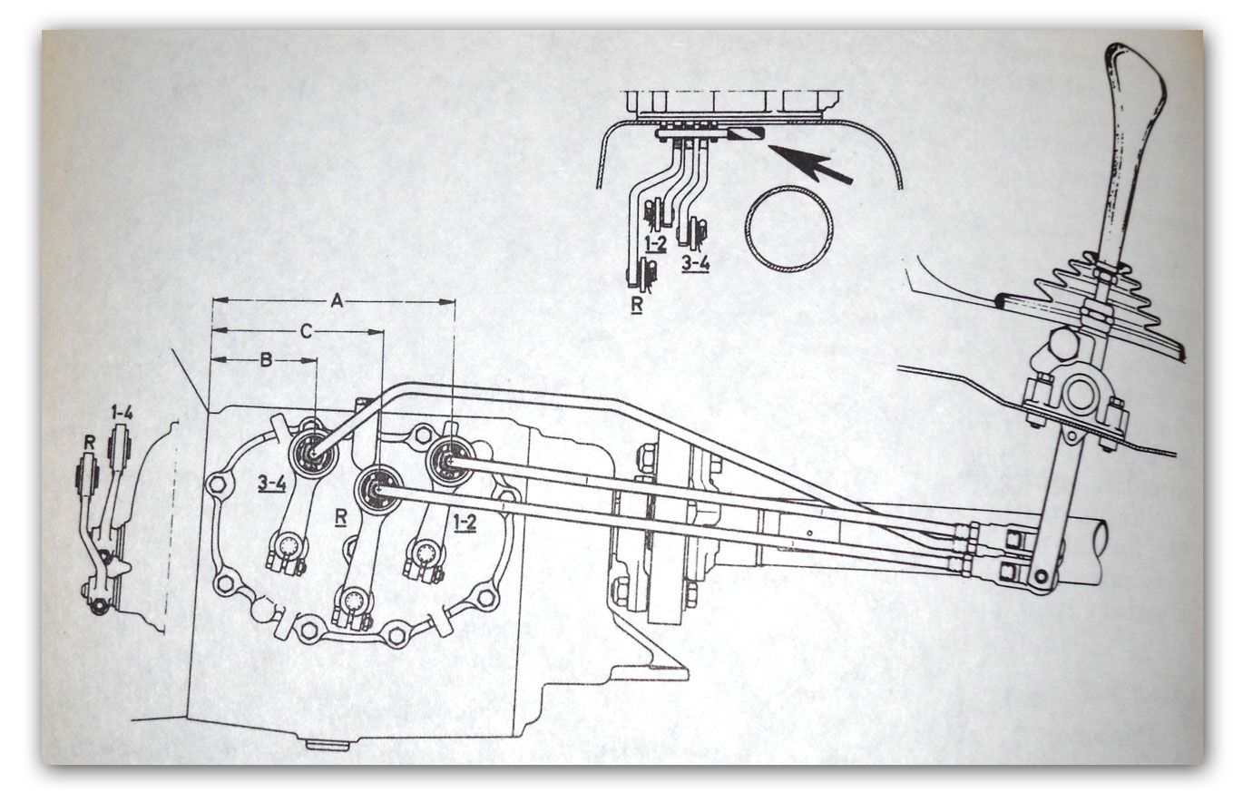 transmission linkage diagram