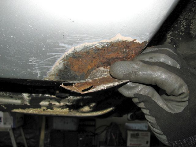 How To Repair Small Rust Holes On A Car