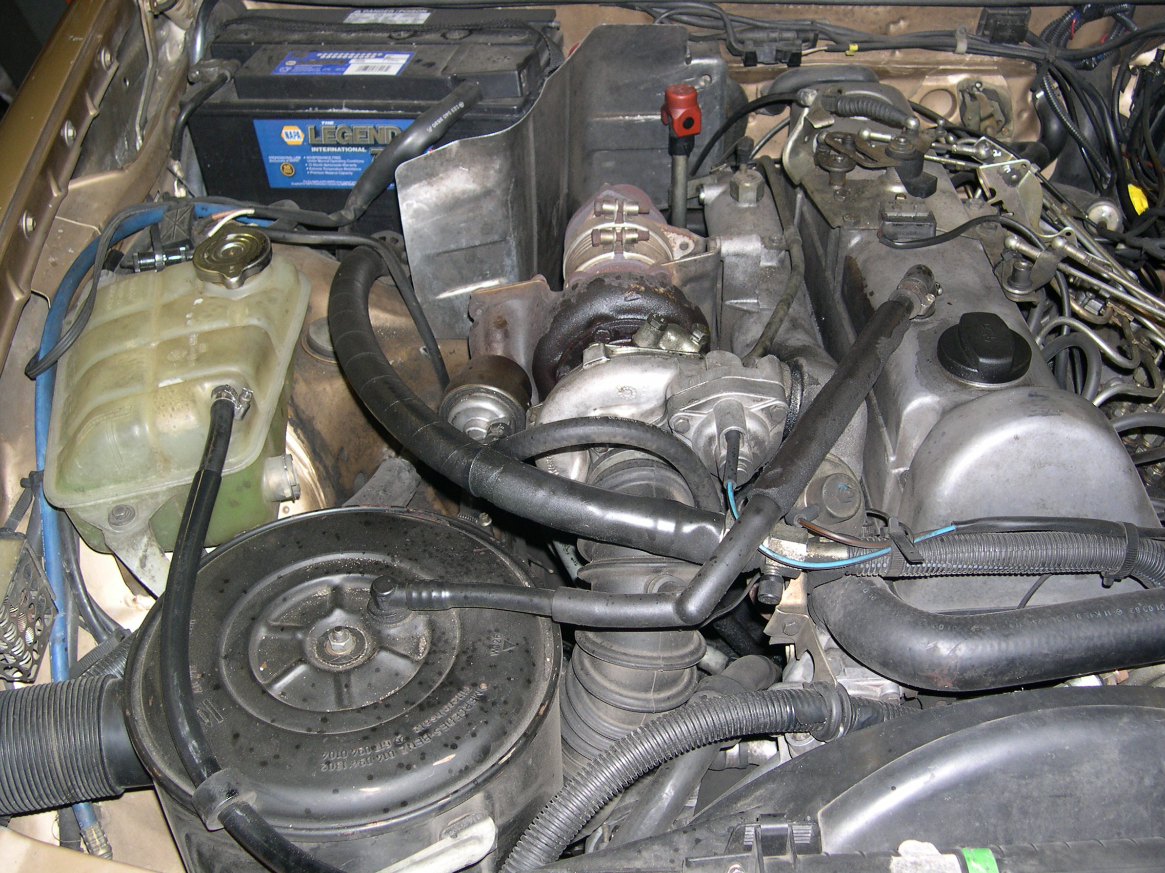 Mercedes 5 cylinder turbo diesel engine for sale for Mercedes benz diesel engines for sale