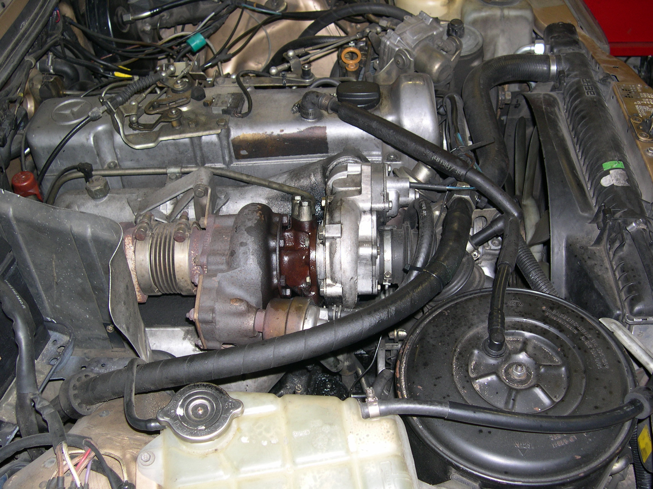 Identifying a late 1984 or 1985 617 Turbo Diesel Engine with