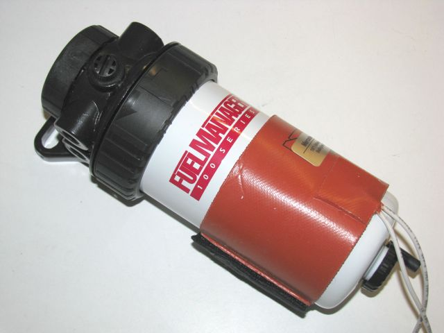 diesel fuel filter electric heater w  electrical connect