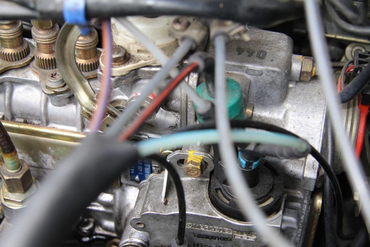 603 diesel engine vacuum hose leaks and faulty routing vacuum