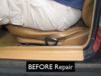 Broken Down Or Sagging Front Seat Bottom