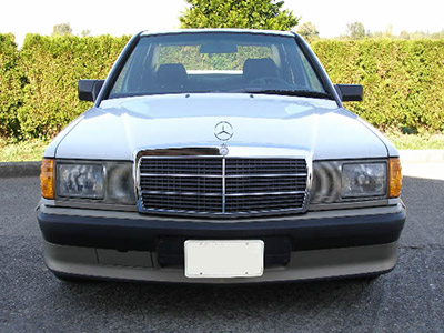201 chassis for Mercedes benz 190e headlights