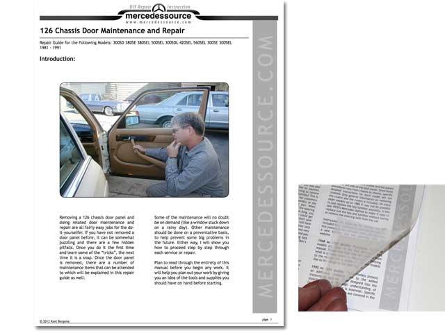 1992 mercedes benz 300e repair manual pdf