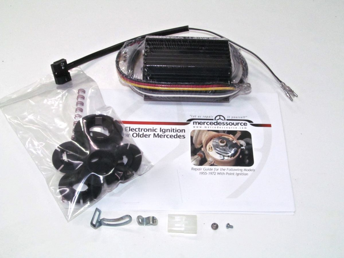 Early 4 Cylinder Points to Electronic Conversion Kit with Instructions |  Product | MercedesSource.com