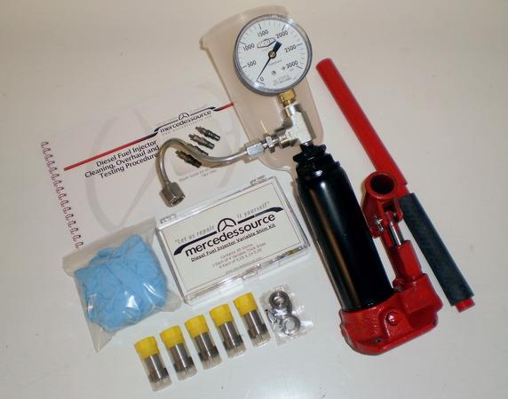 5 cyl 617 diesel engine fuel injector diy rebuild kit for Mercedes benz fuel injector cleaner