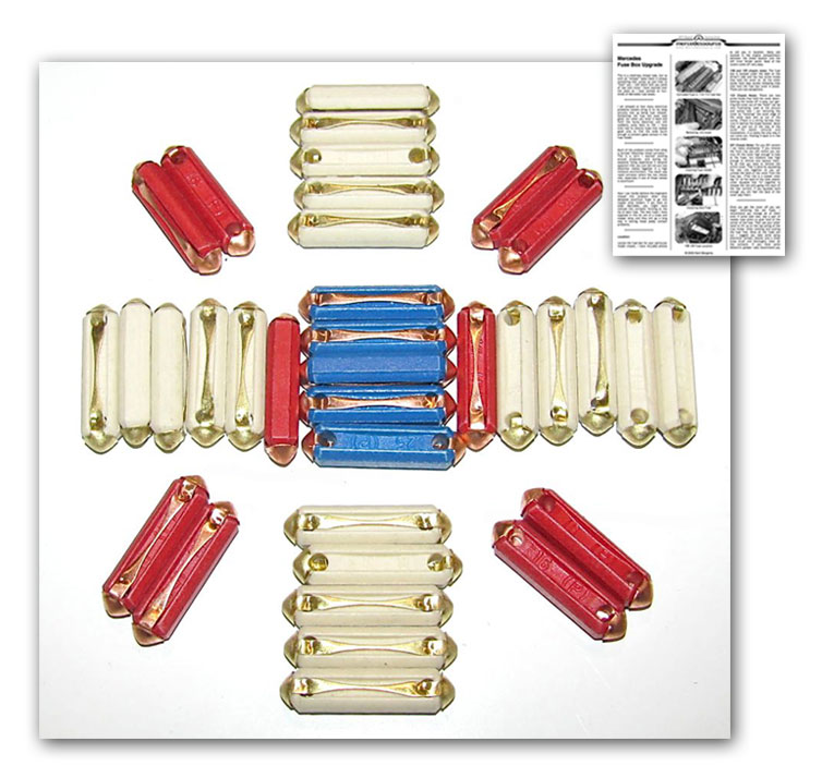 107 116 123 fuse kit upgrade