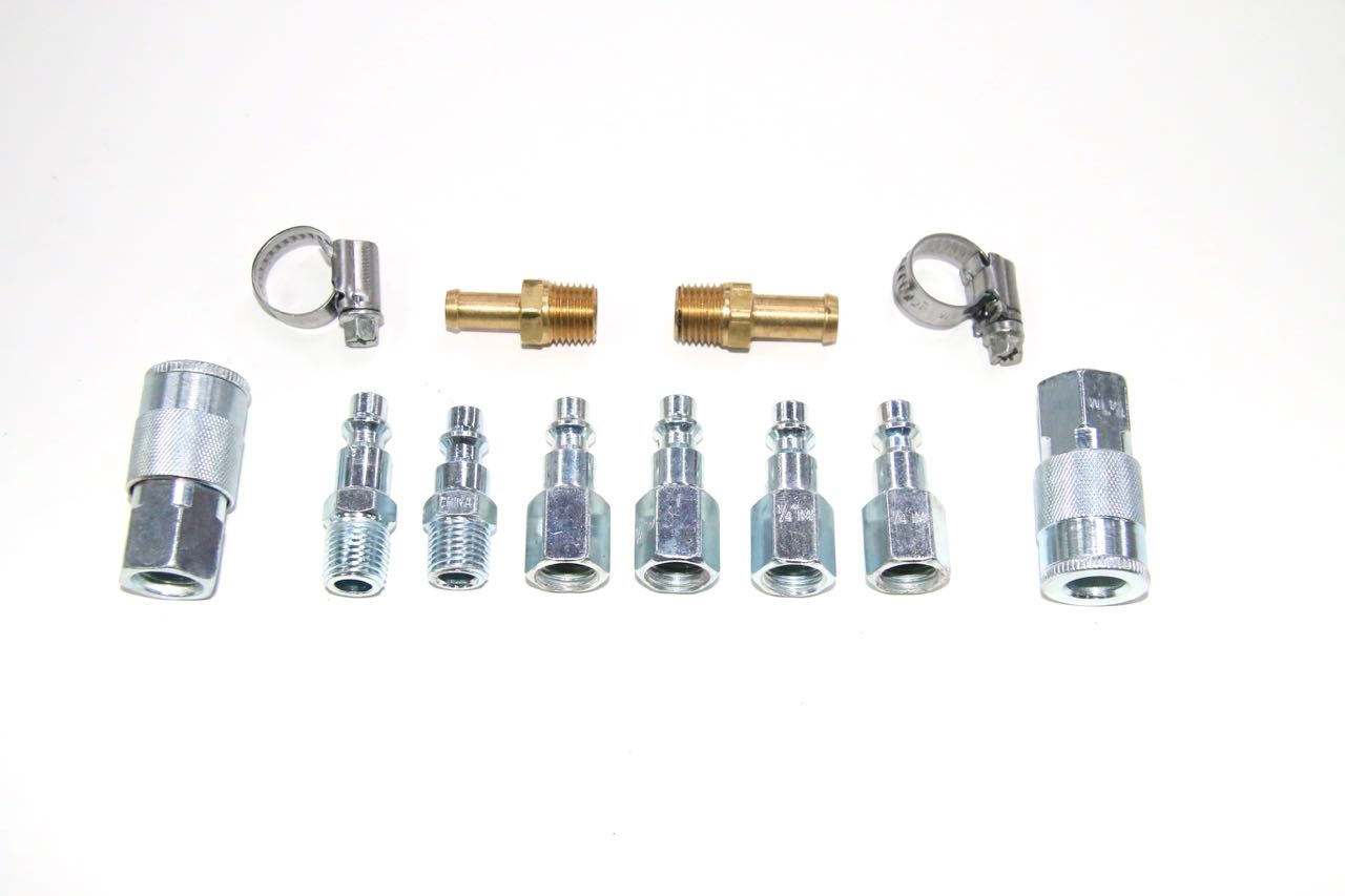 Quick Connect Air Fittings >> Compressor Air Hose Quick Connector Repair / Add On Kit | MercedesSource Kits Product ...