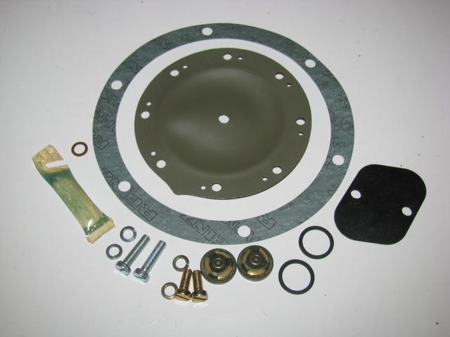 Early Diesel Vacuum Pump Repair Kit No Instructions