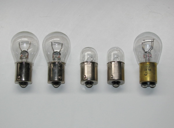 Rear Light Bulb: Standard Tail Light Bulb Assortment (5,Lighting