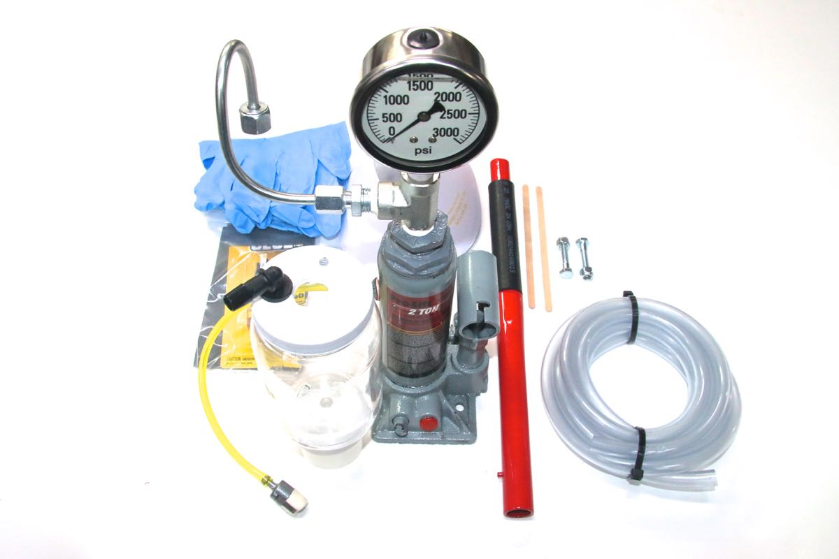 Diesel Fuel Injector Balance Pressure Tester - Yes, You Can Do It