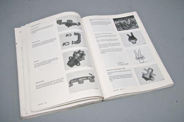 Original Factory Service Manual 617 95 Turbo Diesel Engine