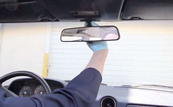 inside rear view mirror removal and replacement interior