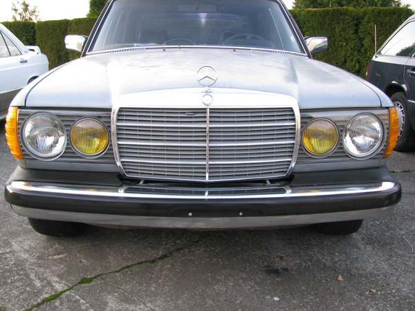 Really dim pre 1985 headlights lights problem for Mercedes benz headlight problems