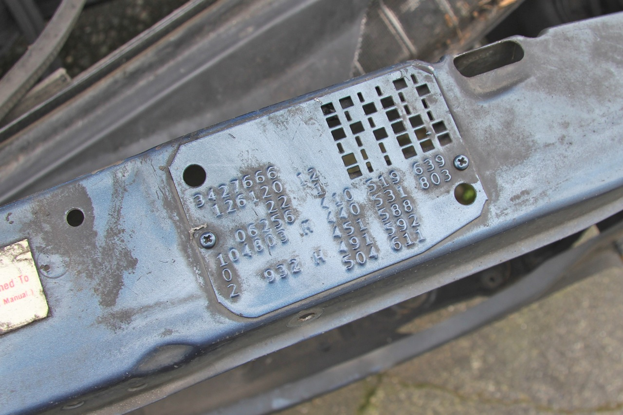 Mercedes w124 vin number location for Vin decoder mercedes benz