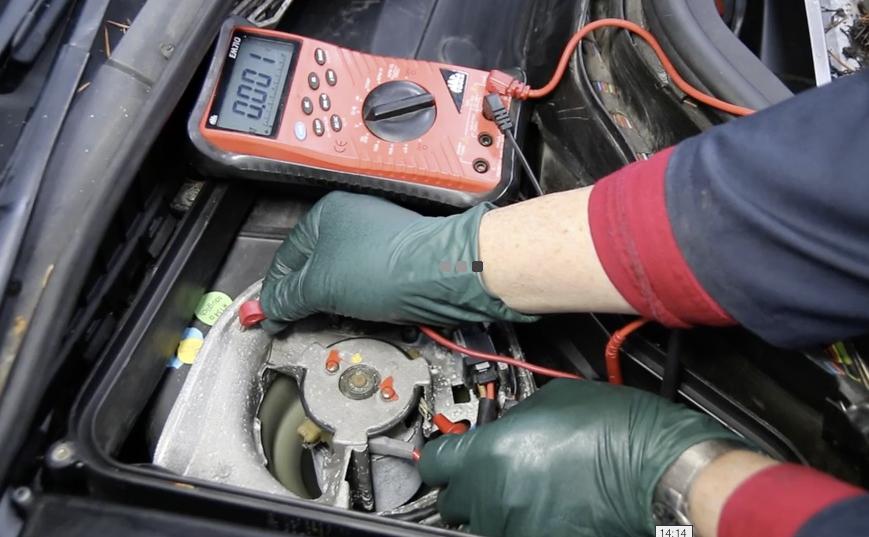 W140 Heater Blower Motor Won T Run Climate Control