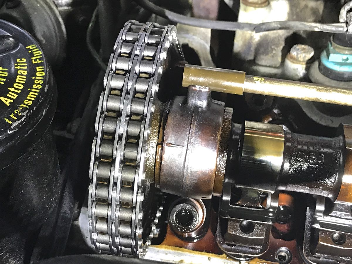 I Installed A New Timing Chain And It Jumped Some Sprocket Teeth Advanced Diesel Injection Engine Diagram Problem
